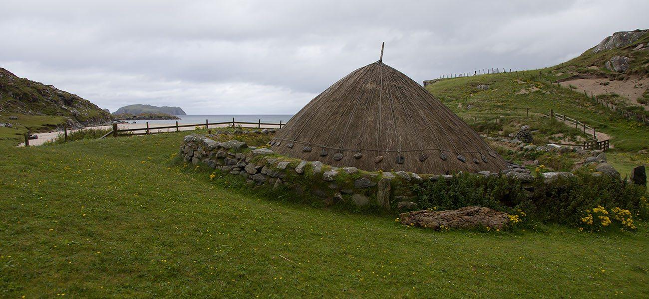 Iron Age House on the Isle of Lewis, Hebrides