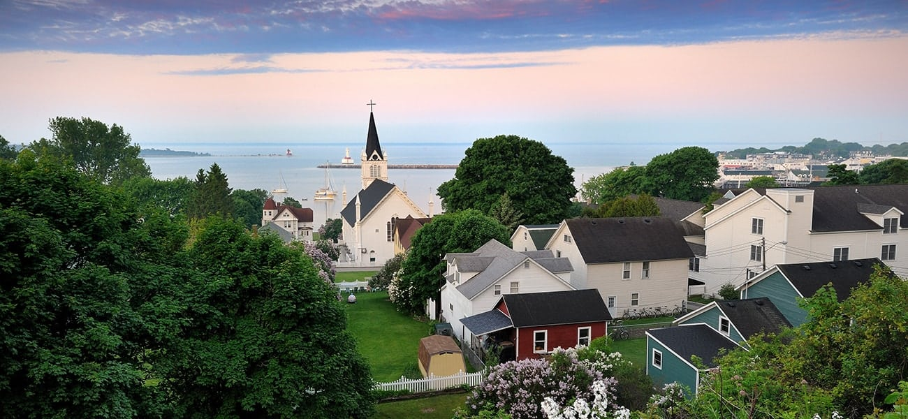 Mackinac Island Victorian View